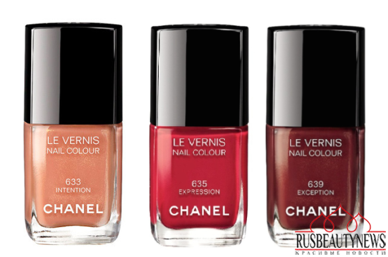 Chanel Rouge Allure Gloss Fall 2014 Collection nail