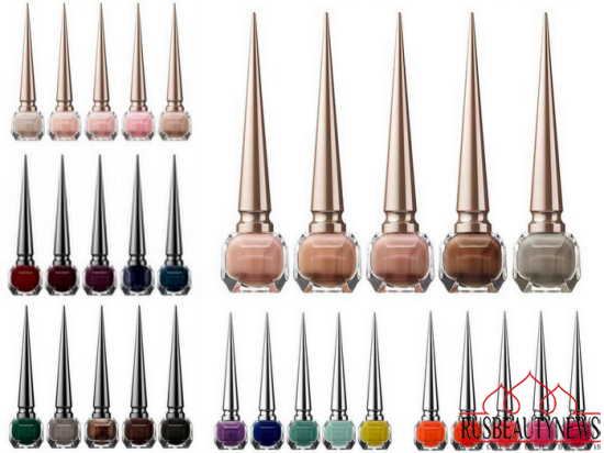 Christian Louboutin Nail Colour Collection Fall 2014 look