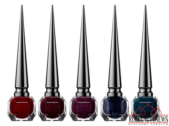 Christian Louboutin Nail Colour Collection Fall 2014 noir 1