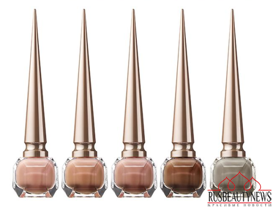 Christian Louboutin Nail Colour Collection Fall 2014 nude 2