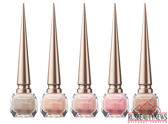 Christian Louboutin Nail Colour Collection Fall 2014 nude1