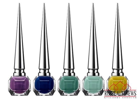 Christian Louboutin Nail Colour Collection Fall 2014 pop