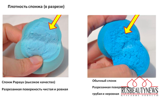 Clensure Papaya Professional Vibrating Beauty Makeup Foundation Blending Sponge look3