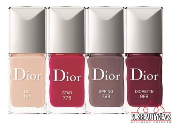 Dior Rouge Dior Baume Lip Treatment Collection nail