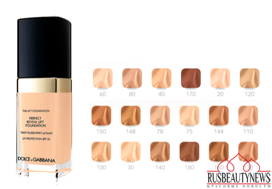 Dolce&Gabbana The Lift Foundation color
