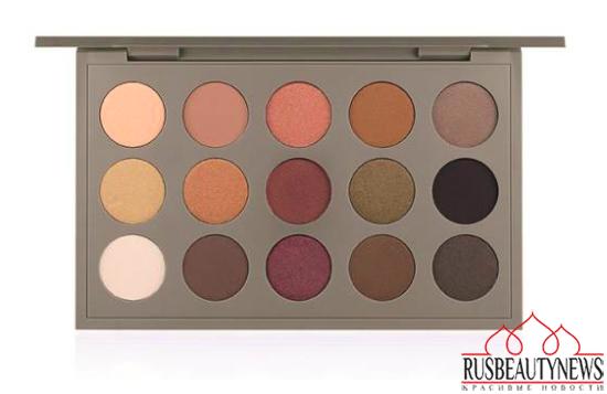 MAC Brooke Shields Fall 2014 Collection eye palette