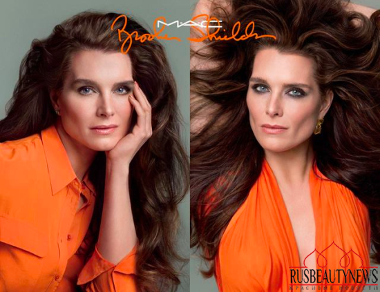 MAC Brooke Shields Fall 2014 Collection look
