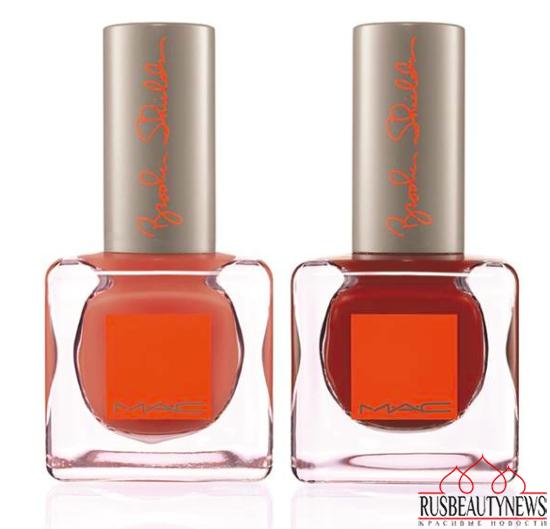 MAC Brooke Shields Fall 2014 Collection nail