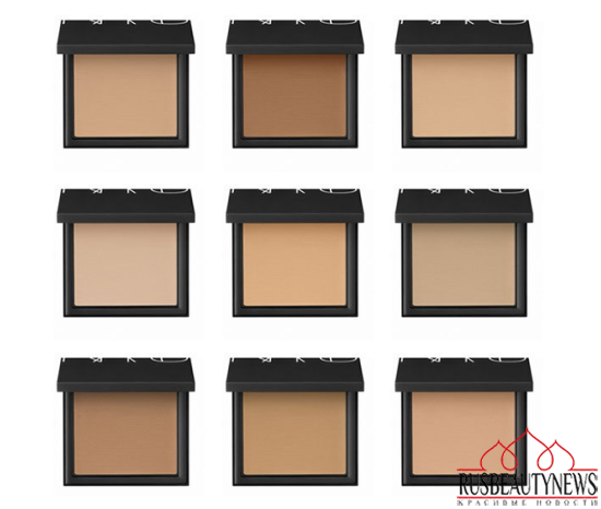 NARS All Day Luminous Powder Foundation look2