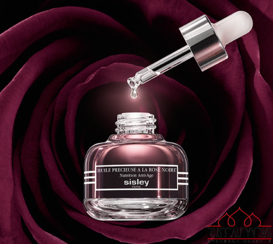 Sisley Black Rose Precious Face Oil look