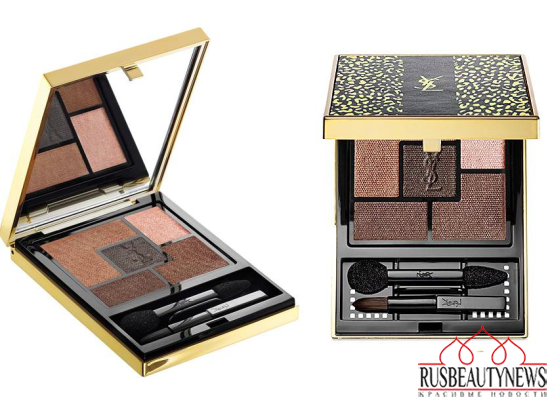 YSL Wildly Gold Holiday 2014 Collection eye4