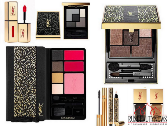 YSL Wildly Gold Holiday 2014 Collection look2