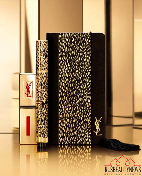 YSL Wildly Gold Holiday 2014 Collection look3