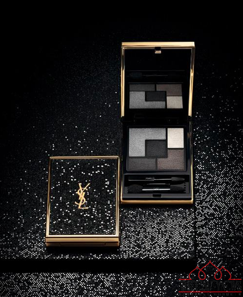 YSL Wildly Gold Holiday 2014 Collection look4