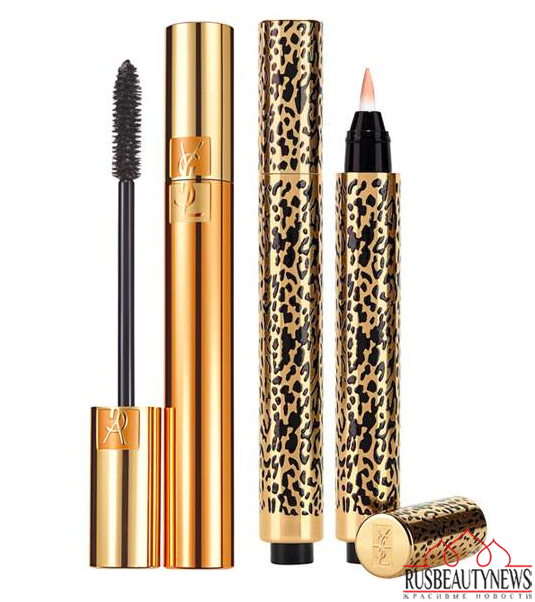 YSL Wildly Gold Holiday 2014 Collection mascara