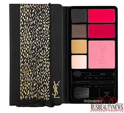 YSL Wildly Gold Holiday 2014 Collection palette