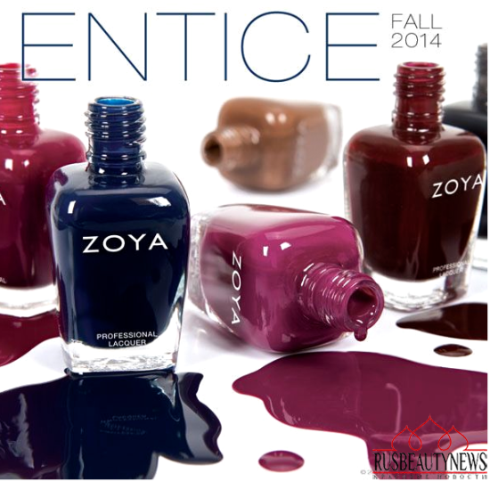 Zoya Entice & Ignite Collection Fall 2014 entice