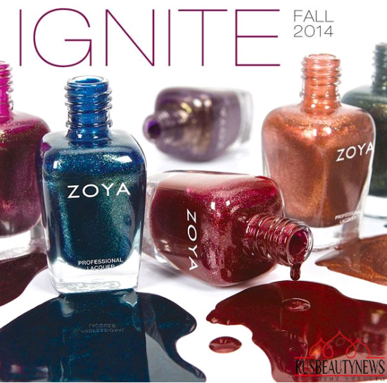 Zoya Entice & Ignite Collection Fall 2014 ignite