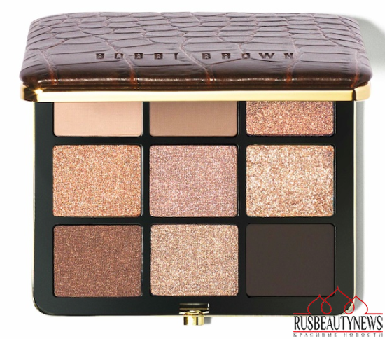 Bobbi Brown Scotch on the Rocks Collection for Holiday 2014 9eye palette