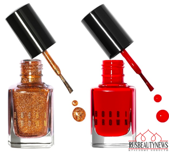 Bobbi Brown Scotch on the Rocks Collection for Holiday 2014 nail