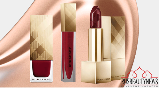 Burberry Beauty Christmas 2014 Collection look1
