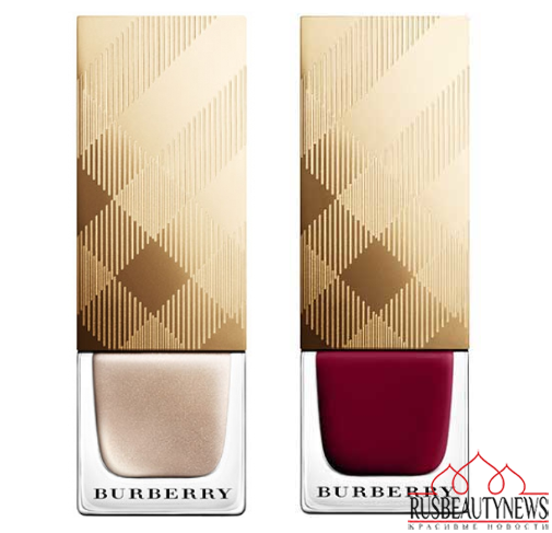 Burberry Beauty Christmas 2014 Collection nail
