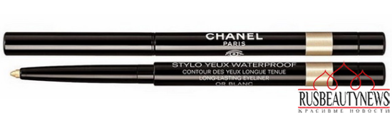Chanel Plumes Précieuses de Chanel Holiday 2014 Collection eyeliner