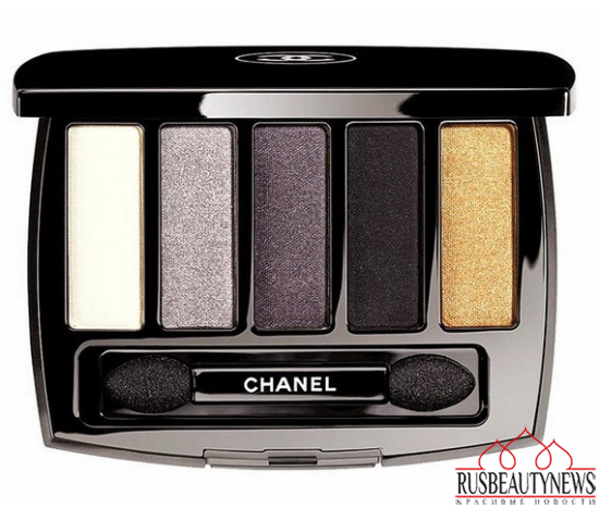Chanel Plumes Précieuses de Chanel Holiday 2014 Collection eyepalette
