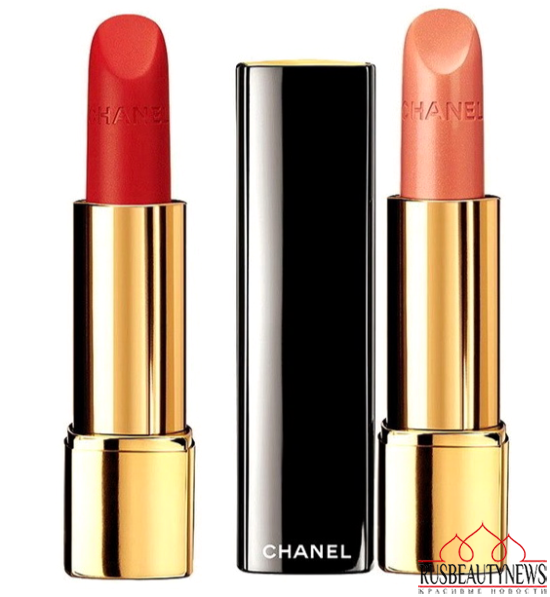 Chanel Plumes Précieuses de Chanel Holiday 2014 Collection lipp