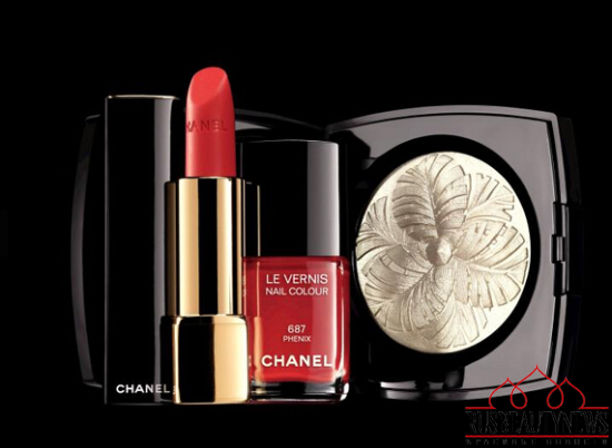 Chanel Plumes Précieuses de Chanel Holiday 2014 Collection look2