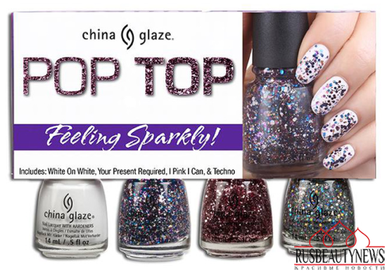 China Glaze Pop Top Fall 2014 Collection 1