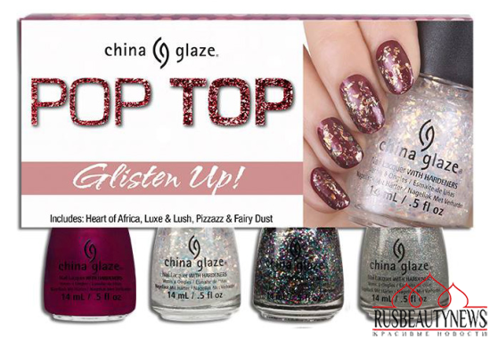 China Glaze Pop Top Fall 2014 Collection 2