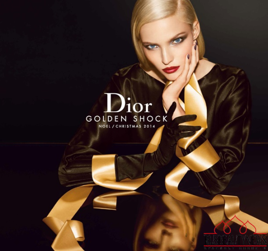 Dior Golden Shock Collection for Holiday 2014 look2