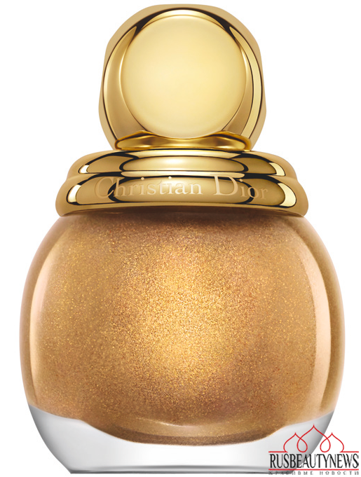 Dior Golden Shock Collection for Holiday 2014 nail1