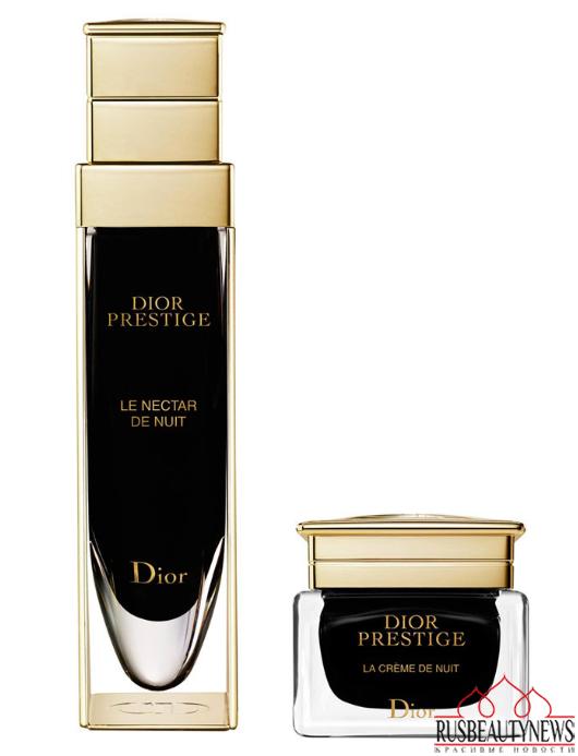 Dior Prestige Le Nectar and La Creme de Nuit look2