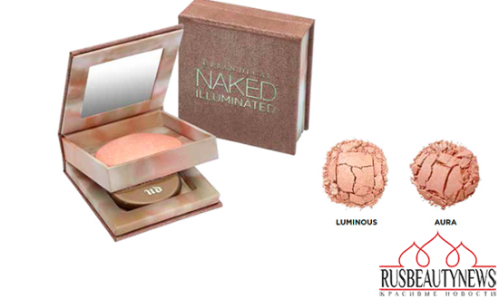 Urban Decay Naked Illuminated Shimmering Powder For Face & Body look4