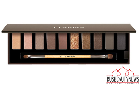 Clarins The Essentials Eyeshadow Pallete Holiday 2014 look1