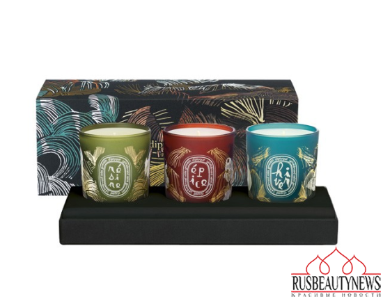 Diptyque Winter Landscapes Collection set