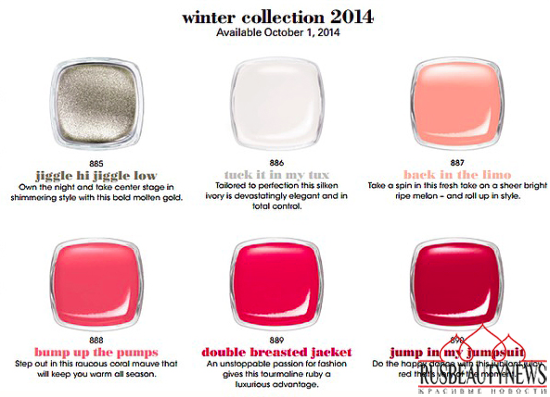 Essie Collection Jiggle Hi Jiggle Low Winter 2014 Collection color