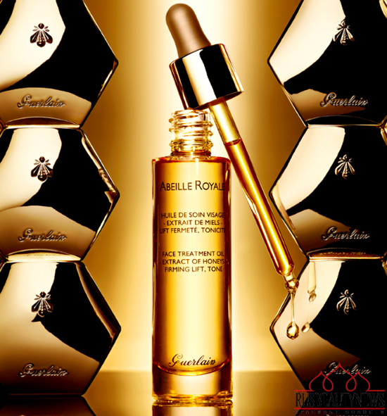 Guerlain Abeille Royale Face Treatment Oil look