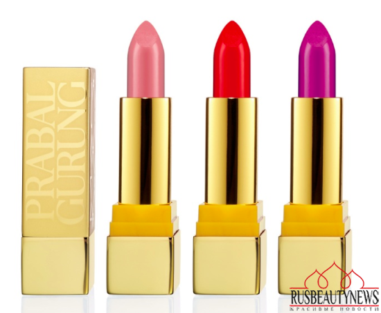 MAC Prabal Gurung Holiday 2014 Collection lipp