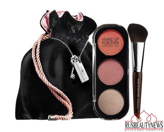 Make Up For Ever Fifty Shades of Grey Makeup Collection for Holiday 2014 blush