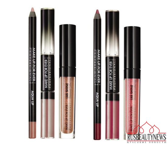Make Up For Ever Fifty Shades of Grey Makeup Collection for Holiday 2014 lipp