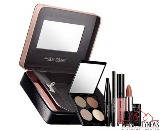 Make Up For Ever Fifty Shades of Grey Makeup Collection for Holiday 2014 set