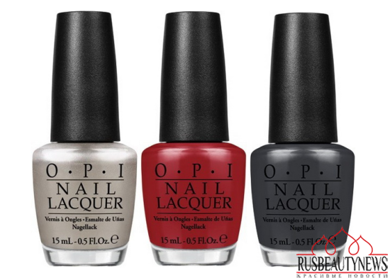 OPI Fifty Shades of Grey Collection color