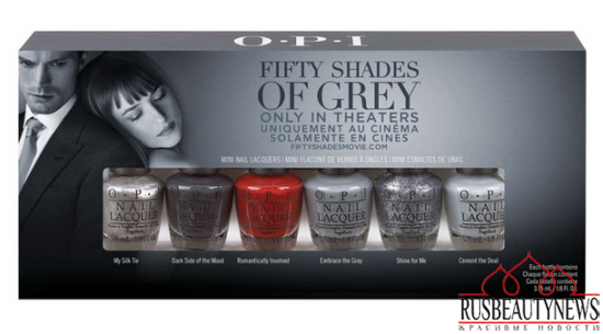 OPI Fifty Shades of Grey Collection look1