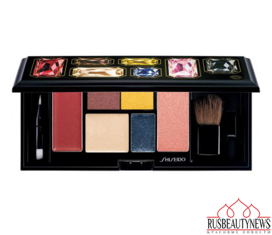 Shiseido Sparkling Party Holiday 2014 Palette look
