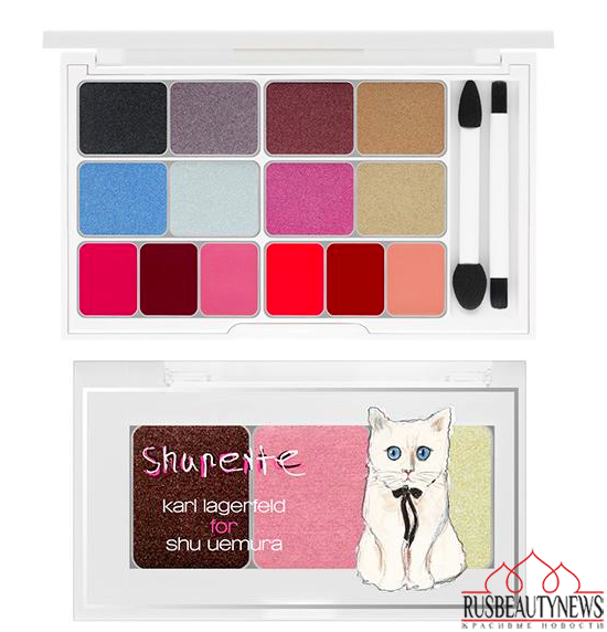 Shu Uemura Shupette Holiday 2014 Collection eye palette
