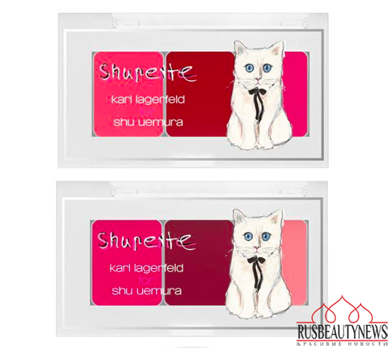Shu Uemura Shupette Holiday 2014 Collection lipp palette