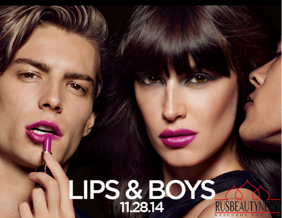 Tom Ford Lips&Boys Collection look